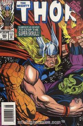 The Mighty Thor #465 Newsstand Edition