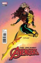Uncanny Avengers #25 X-Men Trading Card Variant