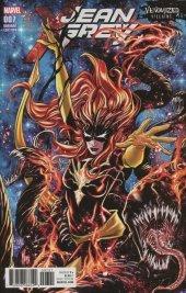 Jean Grey #7 Venomized Variant