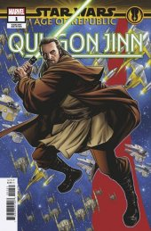 Star Wars: Age of Republic - Qui-Gon Jinn #1 McKone Puzzle Variant