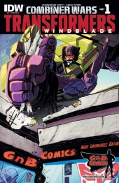 The Transformers: Windblade #1 G & B Comics exclusive
