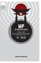 The Manhattan Projects #1 2nd Printing