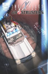 The X-Files: Conspiracy - Ghostbusters #1 Subscription Variant Edition B