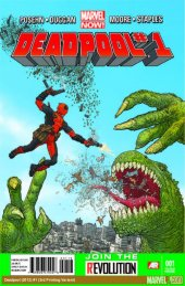 Deadpool #1 3rd Printing