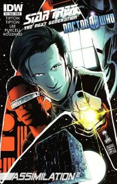 Star Trek: The Next Generation/Doctor Who: Assimilation2 #4 Cover B Francesco Francavilla