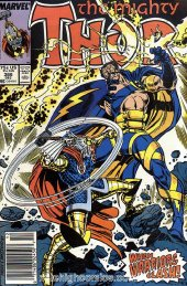 The Mighty Thor #386 Newsstand Edition