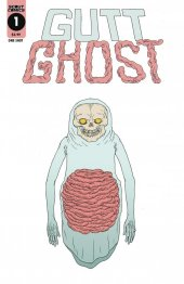 Gutt Ghost: Trouble With the Sawbuck Skeleton Society #1 Cover B Glow in Dark Ink