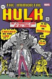 The Immortal Hulk #16 Frankies Comics Matthew Waite 8 Bit Variant Cover