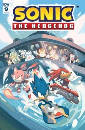 Sonic the Hedgehog #9 1:10 Incentive Variant