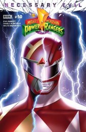 Mighty Morphin Power Rangers #50 1:50 Incentive Inhyuk Lee Variant