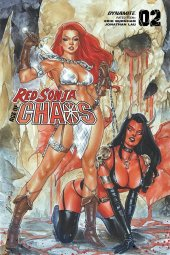 Red Sonja: Age of Chaos #2 FOC Variant - Chatzoudis