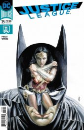 Justice League #35 Variant Edition