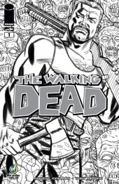 The Walking Dead #1 Wizard World New Orleans Comic Con VIP Exclusive Sketch Variant
