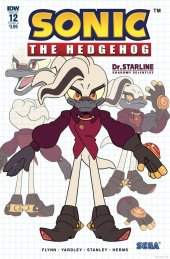 Sonic the Hedgehog #12 Cover B Dutreix