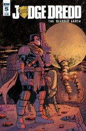 Judge Dredd: Blessed Earth #5 Cover B Oezgen