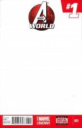 Avengers World #1 Blank Variant