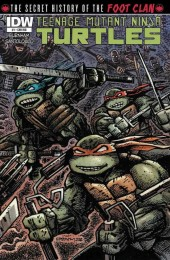Teenage Mutant Ninja Turtles: The Secret History of the Foot Clan #1 Cover RI B