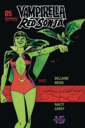 Vampirella / Red Sonja #5 Cover D Romero & Bellaire