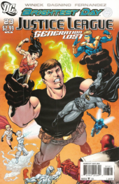 Justice League: Generation Lost #23 Variant Edition