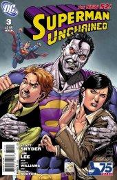 Superman Unchained #3 75th Anniversary Bizarro Cover