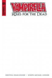 Vampirella: Roses for the Dead #1 Blank Authentix Cover