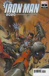Iron Man 2020 #4 1:25 Leinil Francis Yu Variant
