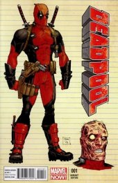 Deadpool #1 Design Variant