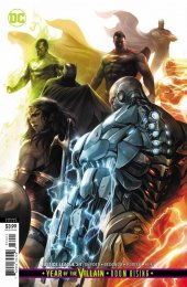 Justice League #34 Card Stock Variant Edition