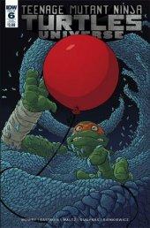 Teenage Mutant Ninja Turtles: Universe #6 Subscription Variant
