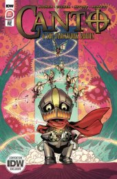 Canto & the Clockwork Fairies #1 Convention Cover