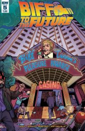 Back to the Future: Biff to the Future #5 Original Cover