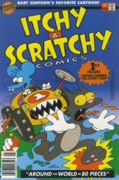 Itchy & Scratchy Comics #1 Newsstand Edition