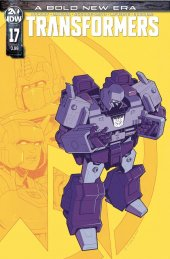 The Transformers #17 Cover B Cahill