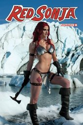 Red Sonja #18 Cover E Decobray Cosplay