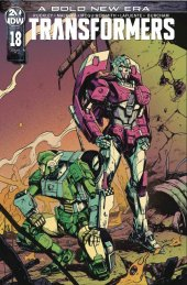 The Transformers #18 1:10 Incentive Variant