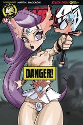 Vampblade: Season 3 #12 Cover F Mendoza Risque