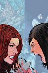 Vampirella / Red Sonja #8 1:30 Moss Virgin Cover