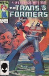 The Transformers #1 Original Cover