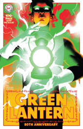 Green Lantern 80th Anniversary 100-Page Super Spectacular #1 1950s Variant Cover by by Matt Taylor