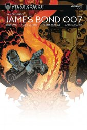 James Bond 007 #1 Atlas Pak Signed Cover