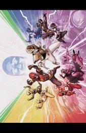 Mighty Morphin Power Rangers #50 Foil Wraparound Variant