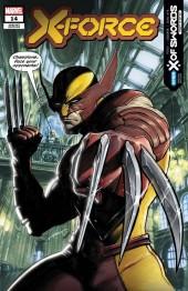 X-Force #14 Juan Ferreyra Variant Cover