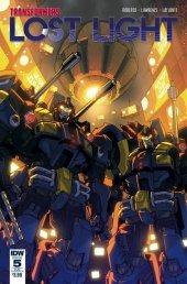 Transformers: Lost Light #5 SUB-B Cover