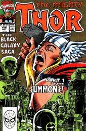 The Mighty Thor #419 Original Cover