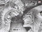 Hunt for Wolverine #1 Kubert Remastered Wraparound B&W Variant