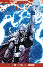 Civil War #3 Return of Thor Variant 2nd Printing
