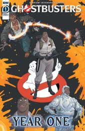 Ghostbusters: Year One #1 Original Cover