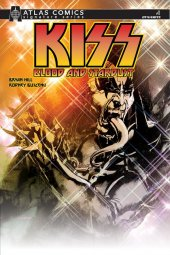 Kiss: Blood And Stardust #1 Gene Simmons Sgn Atlas Cover