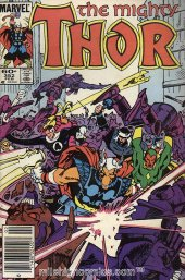 The Mighty Thor #352 Newsstand Edition