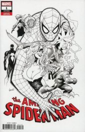 The Amazing Spider-Man #1 Greg Land Variant B